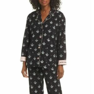 PJ Salvage Just Bee Yourself Pajamas Top